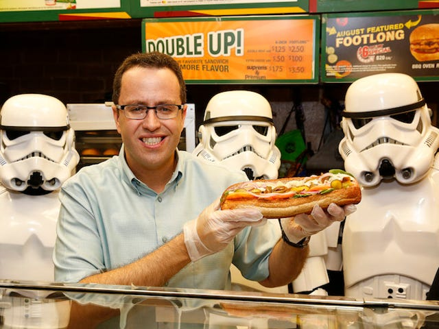 Jared Fogle's Ex-Wife Says Subway Ignored Complaints About the Spokesman's 'Depravities'