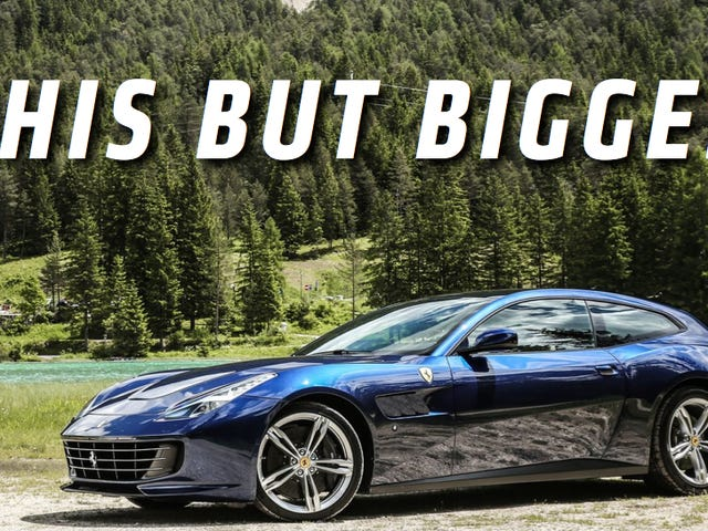 Ferrari Might Be Building A Crossover, Maybe, I Guess, Reportedly?