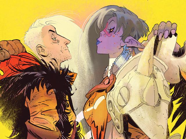 Coda explores marital tension in a Tolkienesque fantasy world
