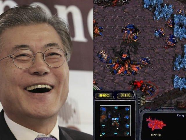 Un candidato a la presidencia de Corea del Sur crea dos mapas de StarCraft personalizados para hacer campaña