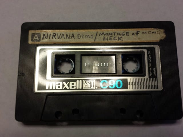 Stumbled onto these Nirvana demos today.