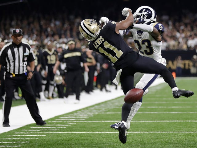 The NFL Isn't Quite Sure How To Fix Pass Interference