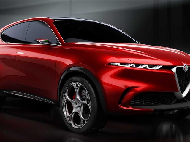 The Alfa Romeo Tonale Concept Actually Looks Pretty Good