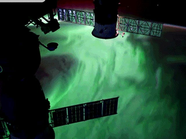 Incredible Views of the Aurora Borealis from Space Makes the Earth Look Like an Alien Planet