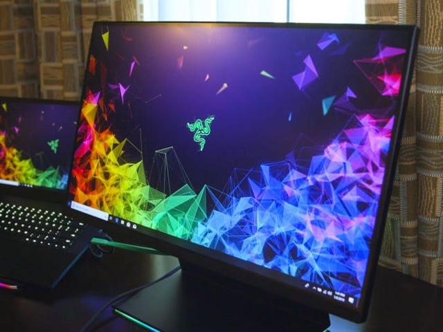 Razer Raptor y Razer Blade 15 Advanced: Así son el primer monitor de Razer para juegos y su nuevo portátil