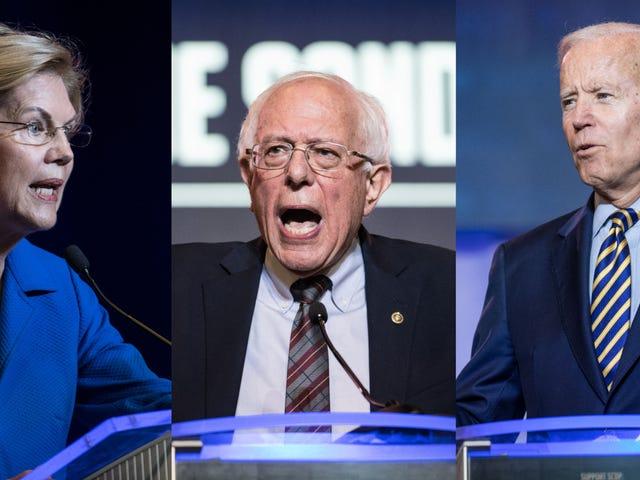 Cómo ver los debates presidenciales demócratas