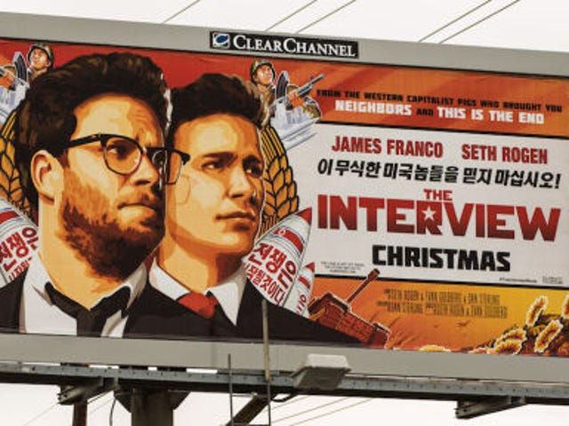 Sony Pictures Will Screen The Interview on Christmas Day
