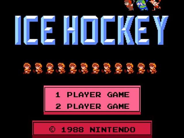 Nachdem wir alle unter Quarantäne gestellt sind, lassen Sie uns einige alte Videospiele noch einmal besuchen. Zuerst? NES Hockey