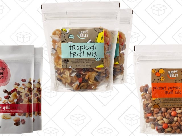 Save An Extra 20% On Amazon's Surprisingly Good Trail Mixes