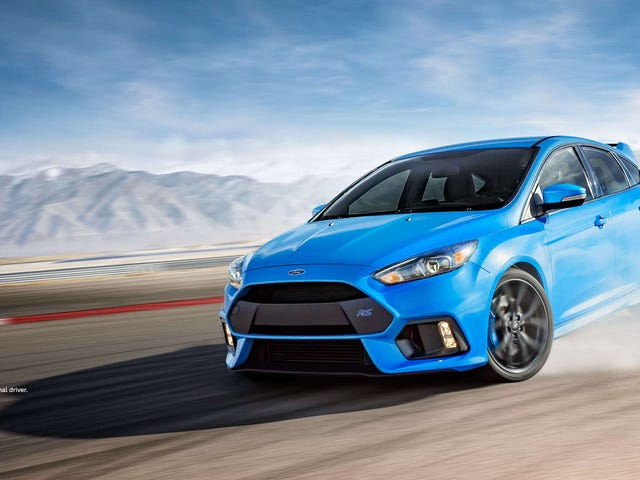 Ford Focus RS: Dead