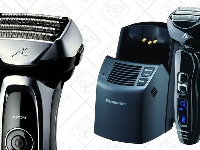 Upgrade to An Electric Shaver With Amazon's Panasonic Gold Box