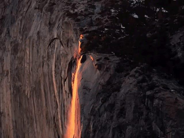 Tôi có thể nhìn vào hỏa hoạn tự nhiên của Yosemite cả ngày dài