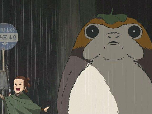 This<i> Last Jedi </i>and<i> My Neighbor Totoro</i> Mashup Will Melt Your Heart