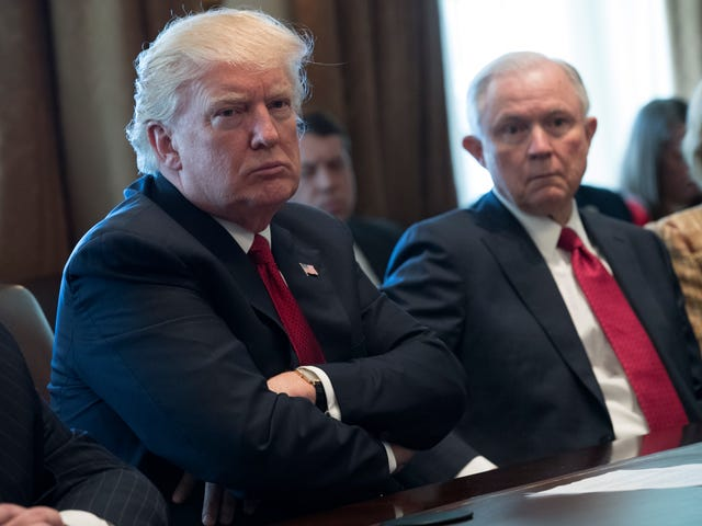 Trump Still Hates Jeff Sessions for Being Jeff Sessions