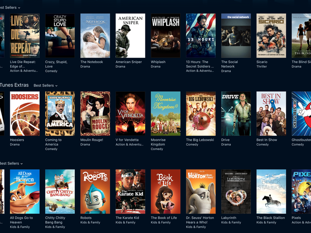 Build Your iTunes Movie Library With Apple's Biggest Sale of the Year