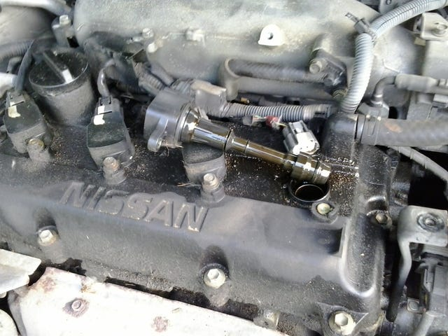 Altima Misfire, Oil in Spark Plug Wells