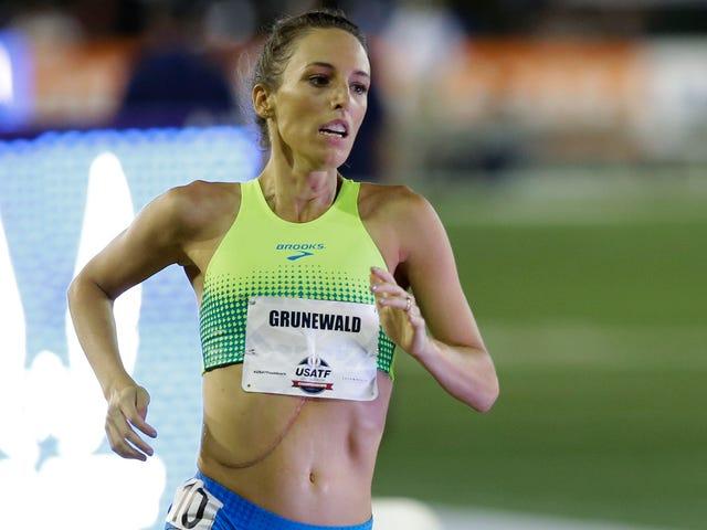 Gabriele Grunewald, som traff kreft ved å løpe på høyeste nivå, dør ved 32