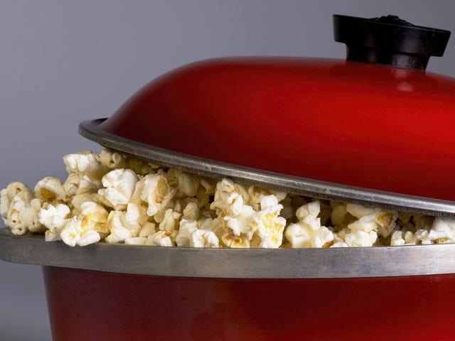 Δεν χρειάζεται να προθερμάνετε το λάδι Popcorn