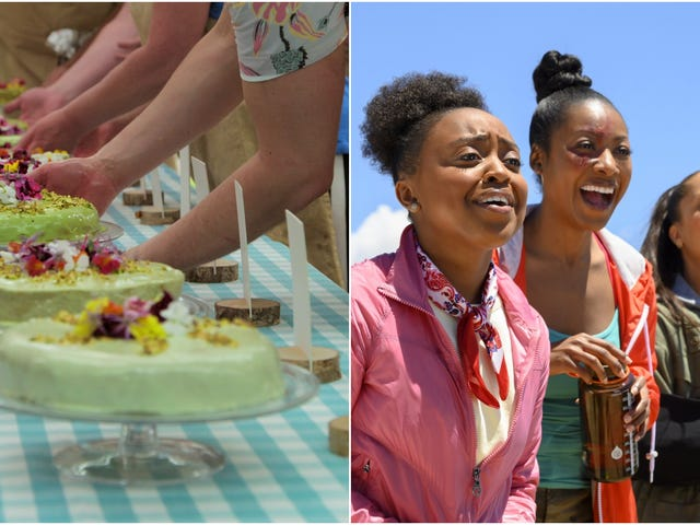 Let's daydream about a Great British Baking Show + A Black Lady Sketch Show crossover