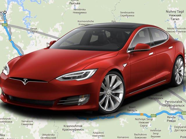Compagnia di energia russa per costruire una stazione di ricarica di medio livello per l'unico proprietario di Tesla della regione