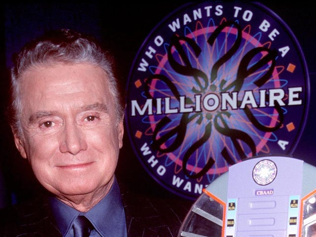 Who Wants To Be A Millionaire canceled, a scant decade after you assumed it went off the air