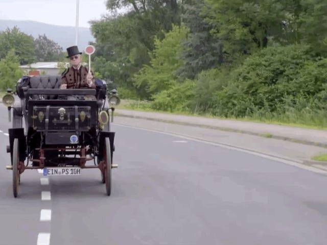 Almanya'nın en eski sokak yasal araba iki fren ve iki boynuz vardır