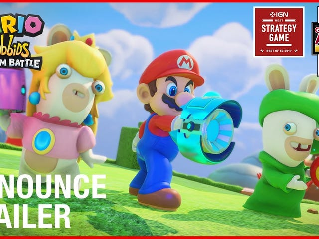 It's Your Last Chance to Save 20% OnMario + Rabbids Kingdom Battle With Amazon Prime