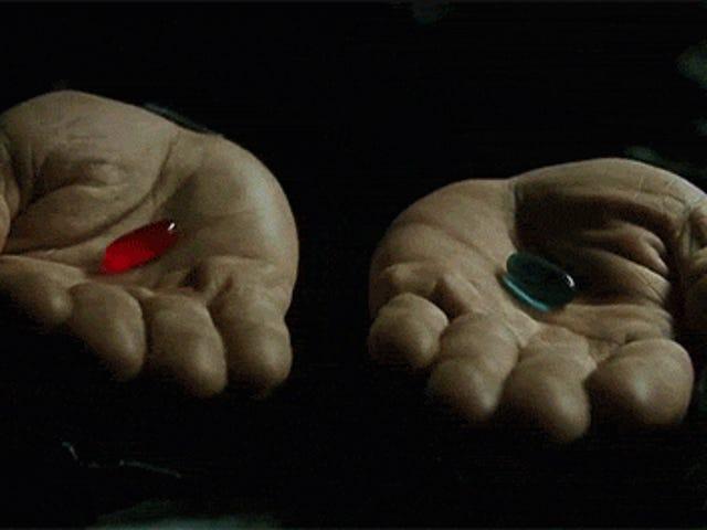 Semua foto close up dari The Matrix