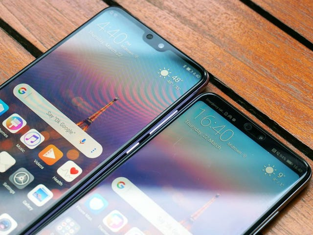 The Huawei P20 has made phone notches a non-issue