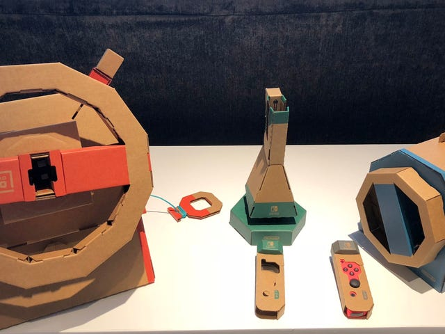 Nintendo's Next Labo Kit Is More Of An Open-World Game