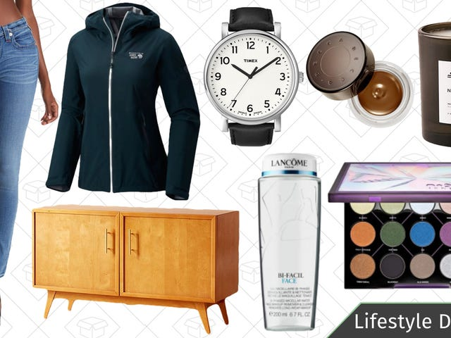 Thursday's Best Lifestyle Deals: Mountain Hardwear, Timex, Sephora, Urban Outfitters, and More