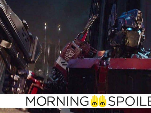 Actualizaciones en una película Optimus Prime Solo potencial