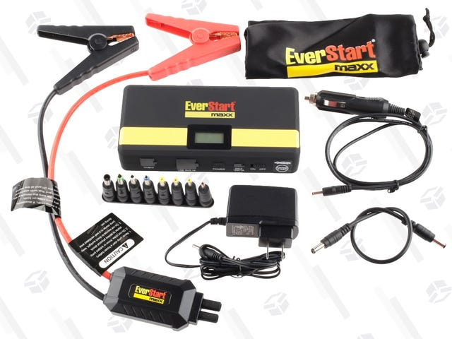 At $30, This Is One of the Best Portable Jump Starter Deals We've Ever Seen