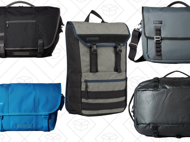 Upgraded Travel Gear Starts at Just $40 With Amazon's One-Day Timbuk2 Sale