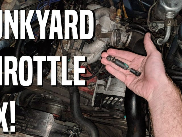 Fixing a Throttle Linkage with Junkyard Parts