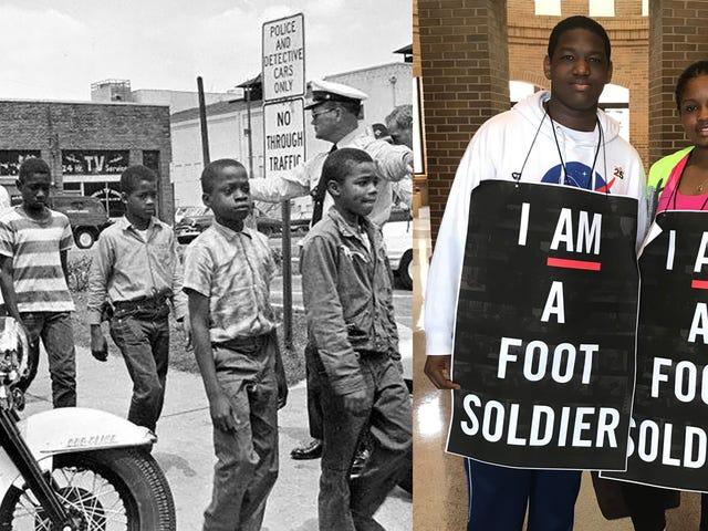 The Original 'March for Our Lives': Alabama Children Re-Create 1963 Children's Salib