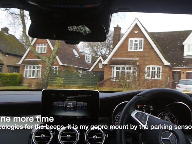 Mercedes Benz GLC crabbing problem.  (Endast RHD-fordon)