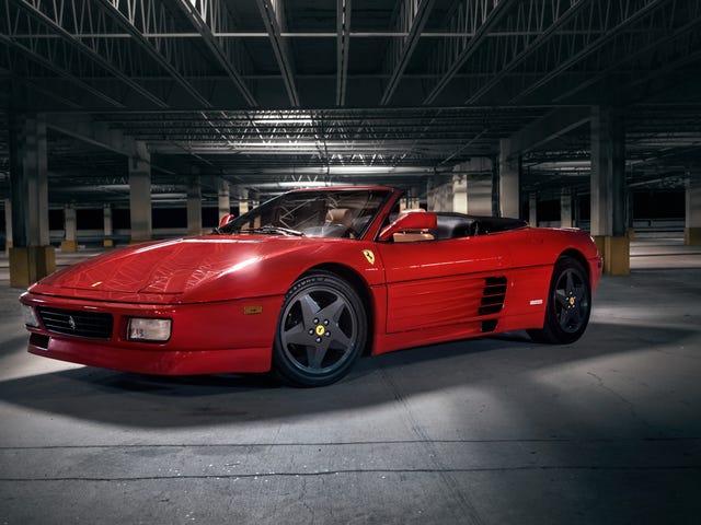 Το χαριτωμένα φοβερό σας Wallpaper Ferrari 348 Spider είναι εδώ