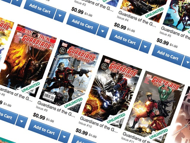 Download a Ton of Guardians of the Galaxy Comics From This Limited Time Sale