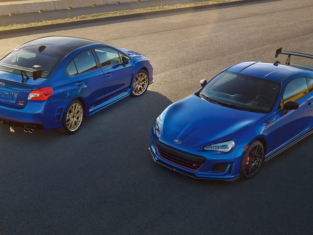 U.S. Buyers Still Overwhelmingly Choose a Manual for the Subaru BRZ and WRX