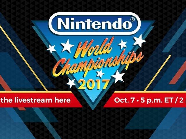 Panoorin ang Nintendo World Championships nangyayari ngayon