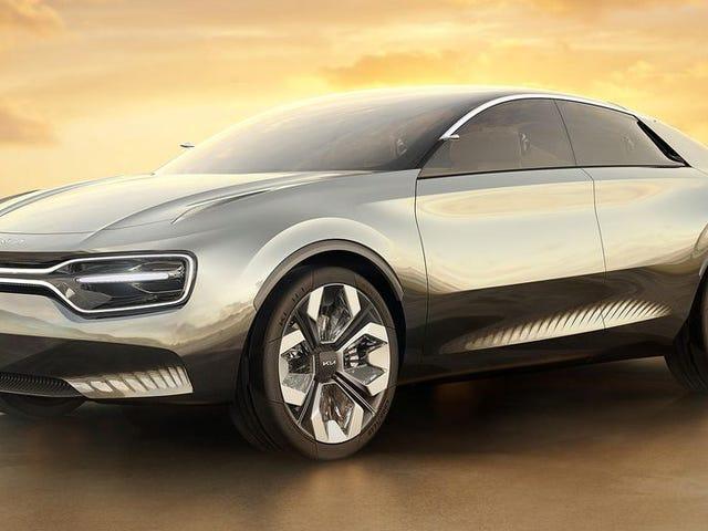 Представьте себе Kia: ваш будущий адский мир, где у автомобилей 21 экран внутри