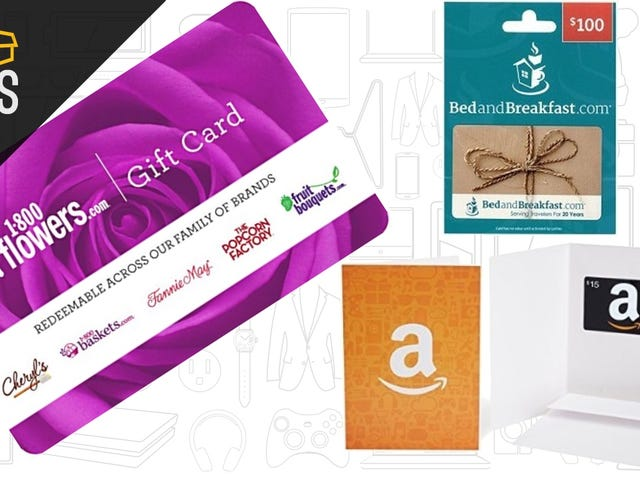 Need a Last Minute Valentine's Day Gift? Amazon Has Some Great Gift Card Deals.