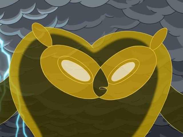 "<a href=""https://tv.avclub.com/adventure-time-hoots-1798183817"" data-id="""" onClick=""window.ga('send', 'event', 'Permalink page click', 'Permalink page click - post header', 'standard');""><i>Adventure Time</i>: ""Hoots""</a>"