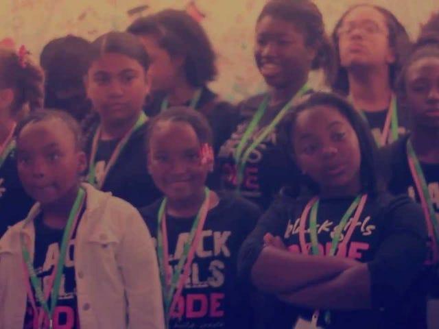 Kode gadis kulit hitam
