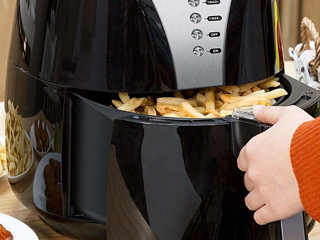Achieve Crispy, Healthy Nirvana With This $56 Air Fryer