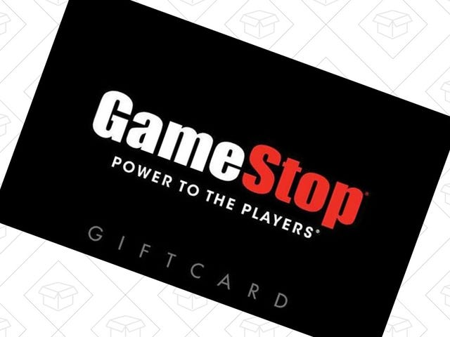 Salva $ 10 a GameStop con questa scontata carta regalo