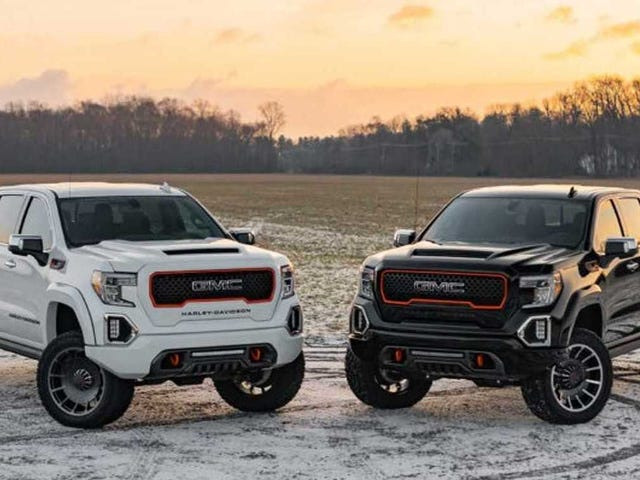 The 2020 Harley-Davidson GMC Sierra Proves Just Because You Have No Taste Doesn't Mean You Have To Buy Ford