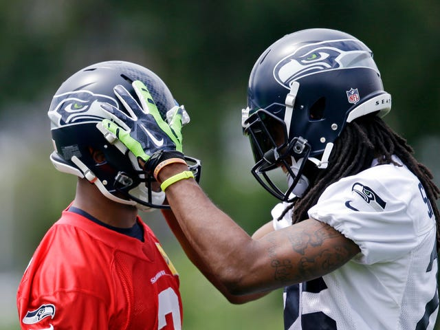 "Richard Sherman On Cussing Out Russell Wilson: ""Iron Sharpens Iron"""