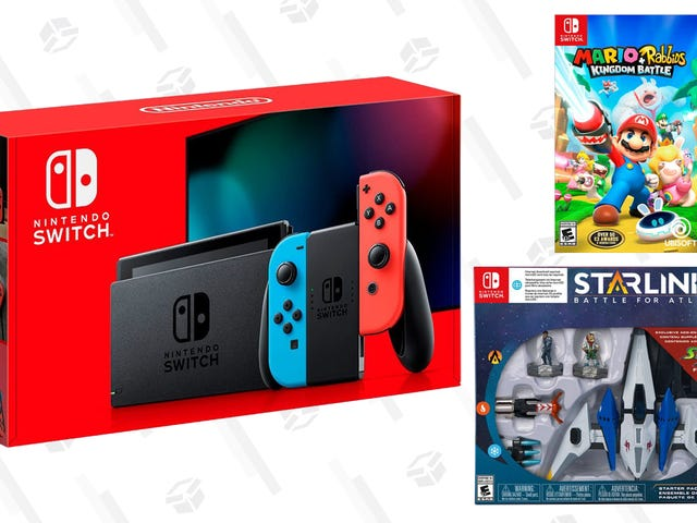 This $300 Switch Bundle Comes With Mario + Rabbids, and Starlink: Battle For Atlas For Free